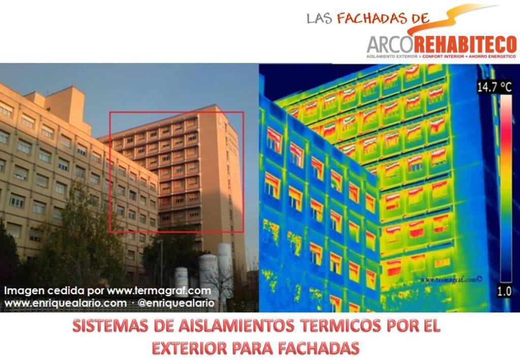 Rehabilitación de fachadas termoaislantes