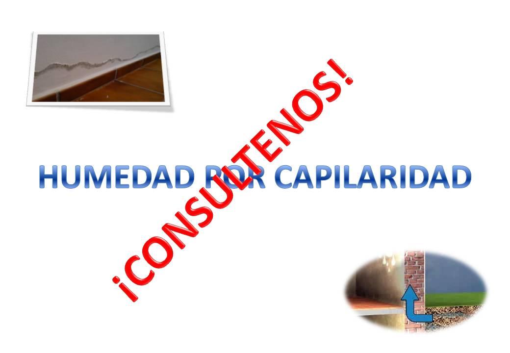 Tratamiento de humedades por capilaridad